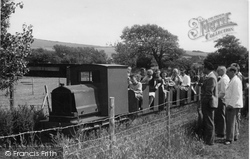 Berwick, Drusillas Park, The Miniature Railway c.1955