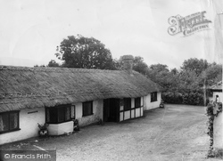 Berwick, Drusillas Park, The Tea Barn c.1965