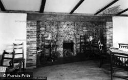Berwick, Old Fireplace, Drusillas Thatched Barn c.1955