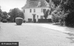Berwick St James, The Manor House 1958