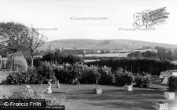 Berwick, The Downs From Drusillas c.1955
