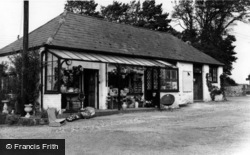 Berwick, The Shop, Drusillas c.1965
