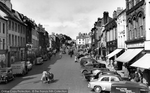Photo of Berwick Upon Tweed, Marygate 1954