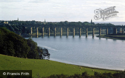 Royal Border Bridge Over The Tweed c.1980, Berwick-Upon-Tweed