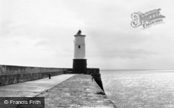 The Pier Lighthouse 1960, Berwick-Upon-Tweed