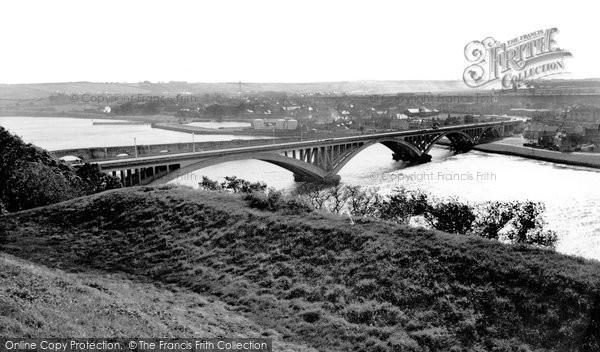 Photo of Berwick Upon Tweed, The Tweed Bridge c.1960