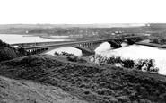 Berwick-Upon-Tweed, The Tweed Bridge c.1960