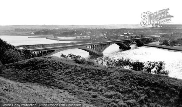 Photo of Berwick-Upon-Tweed, the Tweed Bridge c1960, ref. B305037
