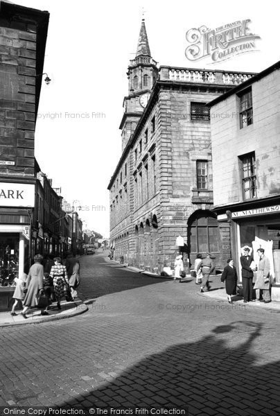 Photo of Berwick-Upon-Tweed, Town Hall 1954, ref. B305009
