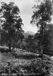 Berwyn, Castell Dinas Bran 1901