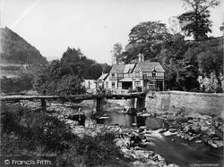 Berwyn, Chain Bridge Hotel c.1863