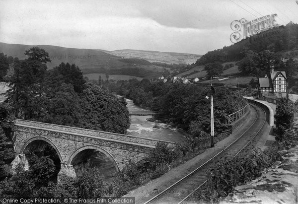 Berwyn, King's Bridge 1914