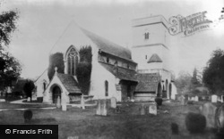 Betchworth, Church 1907