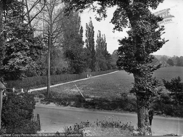 Betchworth, Church Path From Post Office 1928