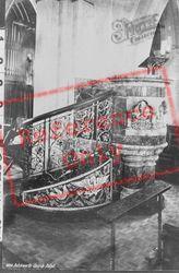 Church, Pulpit 1886, Betchworth