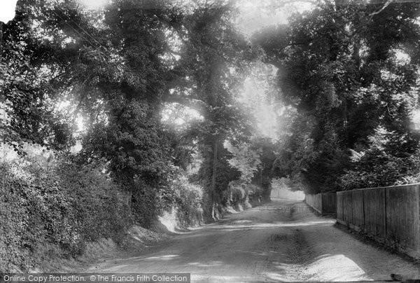 Photo of Betchworth, Dorking Road 1904