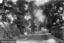 Betchworth, Dorking Road 1904