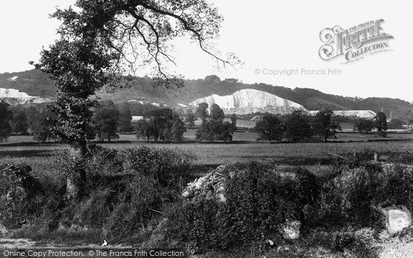 Photo of Betchworth, Hills From Dorking Road c.1930