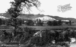 Betchworth, Hills From Dorking Road c.1930