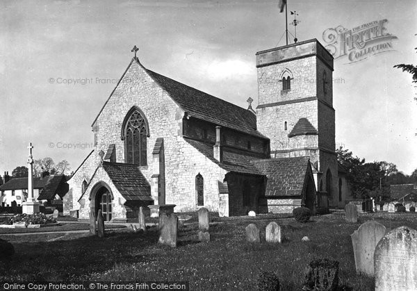 Photo of Betchworth, St Michael's Church c.1939