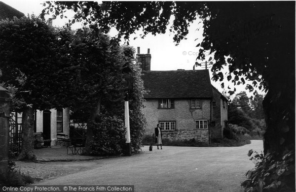 Photo of Betchworth, The Village c.1955