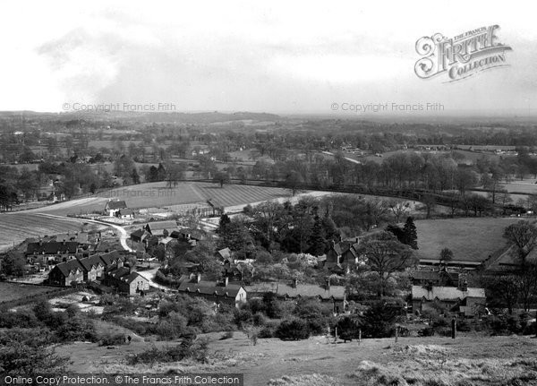 Photo of Betchworth, View From Betchworth Hills 1931