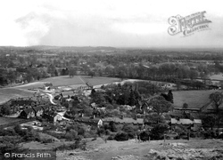 Betchworth, View From Betchworth Hills 1931