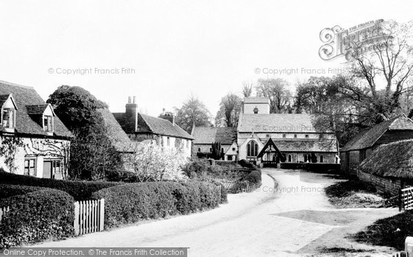Photo of Betchworth, Village And Church 1900