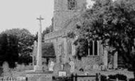 Bethersden, St Margaret's Church And War Memorial c.1955