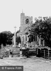 Bethersden, St Margaret's Church and War Memorial c1955