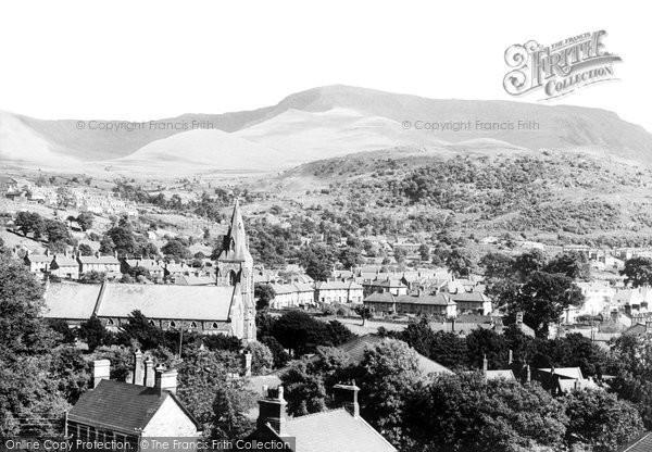 Bethesda, Carnedd Dafydd c.1955