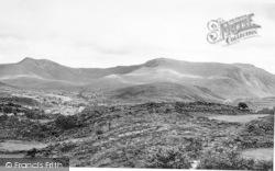 Bethesda, Carnedd Llywelyn And Carnedd Dafydd c.1950