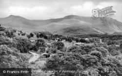 Carnedd Llywelyn And Carnedd Dafydd c.1955, Bethesda