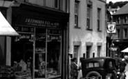 Bethesda, J. R. Edwards & Son Grocery Shop, High Street c.1955