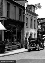 Bethesda, J. R. Edwards & Son Grocery Shop, High Street c.1955