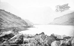 Bethesda, Lake Ogwen 1890