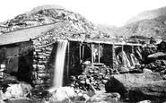Bethesda, Mill At Ogwen Falls 1890