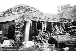 Bethesda, Mill At Ogwen Falls 1890
