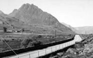Bethesda, Nant Ffrancon Pass c.1955
