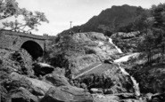 Bethesda, Ogwen Bridge And Falls c.1955