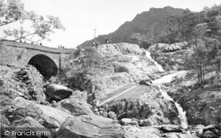 Bethesda, Ogwen Bridge And Falls c.1955