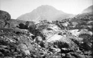 Bethesda, Ogwen Falls 1890