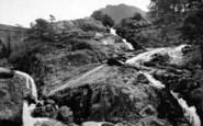 Bethesda, Ogwen Falls And Benglog Bridge c.1955