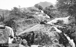 Bethesda, Ogwen Falls And Benglog Bridge c.1955