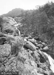 Bethesda, Ogwen Falls c.1960