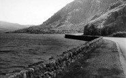 Bethesda, Ogwen Lake And Tryfan c.1955