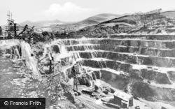 Bethesda, Penrhyn Quarry c.1955