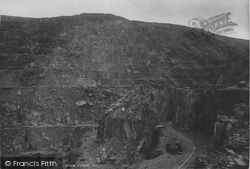 Bethesda, Penrhyn Slate Quarries 1896