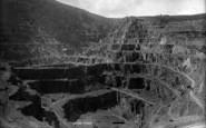 Bethesda, Penrhyn Slate Quarry 1896