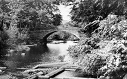 Bethesda, The River Ogwen c.1960